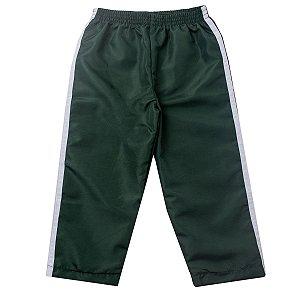 Calça Tactel Verde Militar Com Forro