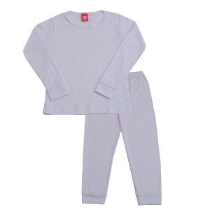 Conjunto Pijama Ribana Branco