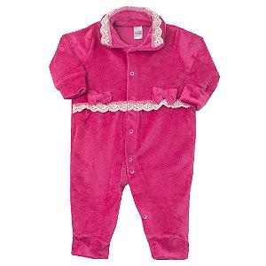 Macacão Plush Pink