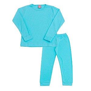 Conjunto Pijama Ribana Azul Nuvem