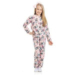 Pijama Soft Fada Rosa