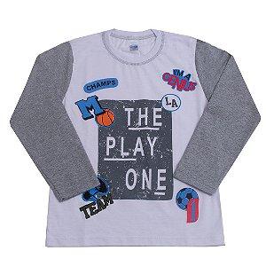 Camiseta Manga Longa The Play One