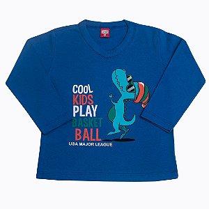 Blusa Menino Dino Coll Kids