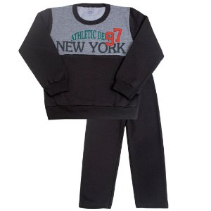 Conjunto New York Cinza