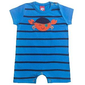 Macaquinho Baby Caranguejo Azul