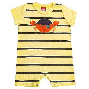 Macaquinho Baby Caranguejo Amarelo