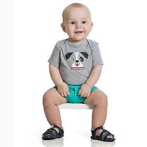 Conjunto Baby Tapa Fralda Verde