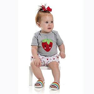 Conjunto Baby Moranguinho Mescla