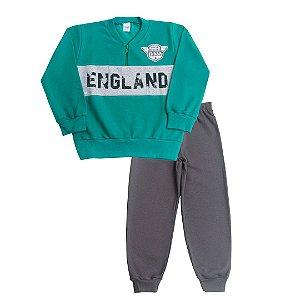 Conjunto Moletom England Verde