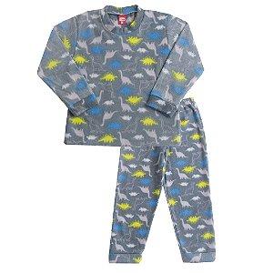 Pijama Soft Dino Chumbo