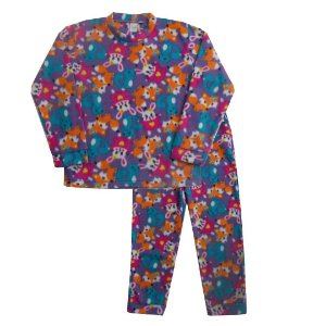 Pijama Soft Bichinhos Roxo