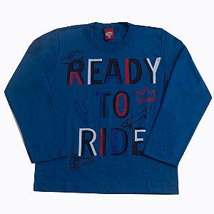 Camisa Ready To Ride Azul