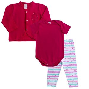 Conjunto Baby Princess Pink