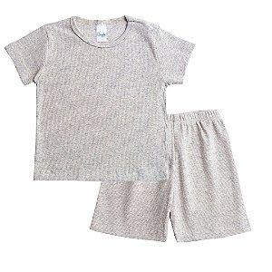 Conjunto Pijama Kids Mescla