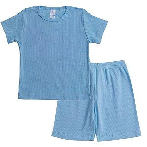 Conjunto Pijama Kids Azul
