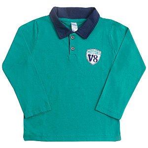 Camisa Polo Motors Verde