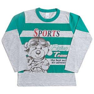 Camisa Sports Bear Verde