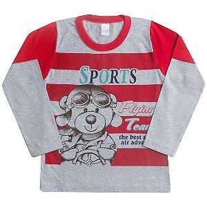Camisa Sports Bear Vermelho