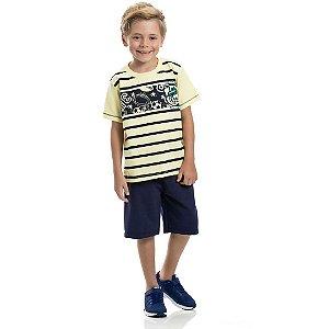 Conjunto Infantil Sports Club Amarelo