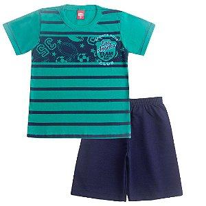 Conjunto Infantil Sports Club Verde