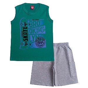 Conjunto Infantil Brooklyn Verde