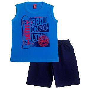 Conjunto Infantil Brooklyn Azul