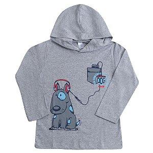 Camiseta Mescla Manga Longa Dog