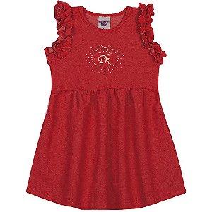 Vestido em Cotton PK Vermelho
