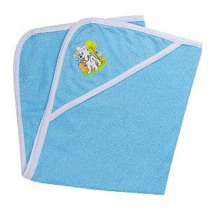 Toalha de Felpa Azul