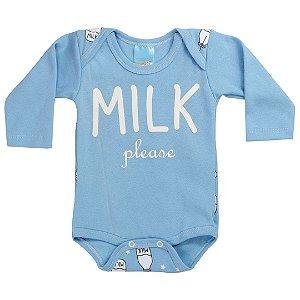 Body Suedine Milk Azul