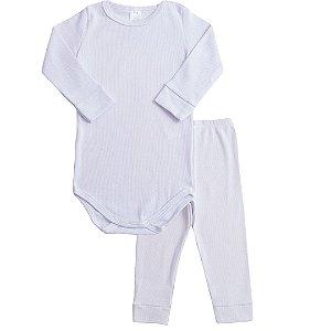 Conjunto Body e Calça Branco