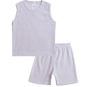 Conjunto Pijama Regata Branco