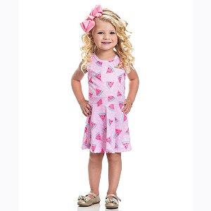 Vestido Melancia Rosa