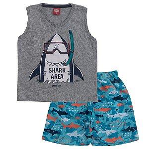 Conjunto Regata Shark Mescla