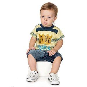 Camiseta King Amarela