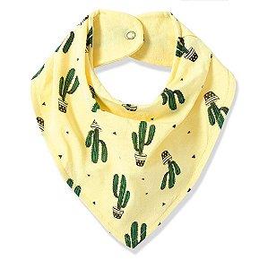 Babador Bandana Duplo estampado Cactus