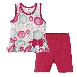 Conjunto Bolhas Pink