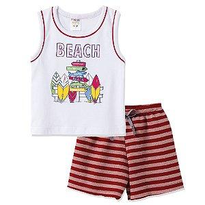 Conjunto Regata Beach Branco