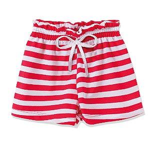 Shorts Fru-Fru Vermelho