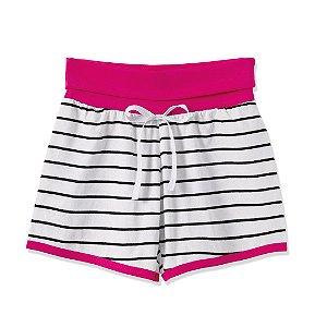 Shorts de Listras Pink