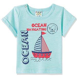 Camiseta Ocean Azul
