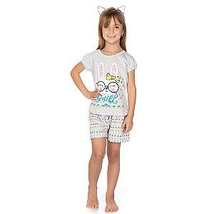 Conjunto Pijama Smile Mescla