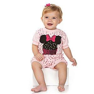 Conjunto Pijama Cupcake Rosa