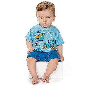 Conjunto Pijama Super Cars Azul