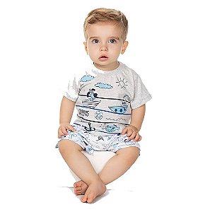 Conjunto Pijama Sailing Mescla