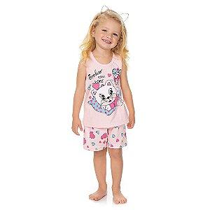 Conjunto Pijama Sonho Rosa