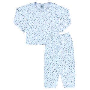 Pijama Estrelas Branco