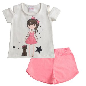 Conjunto Little Girl OFF