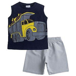 Conjunto Regata Truck Marinho