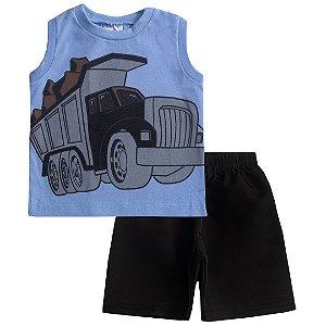 Conjunto Regata Truck Azul